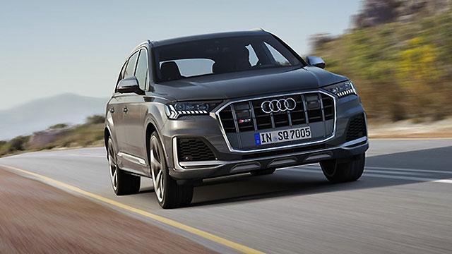 Osvježen Audi SQ7 TDI – temeljito dotjeran nos i interijer