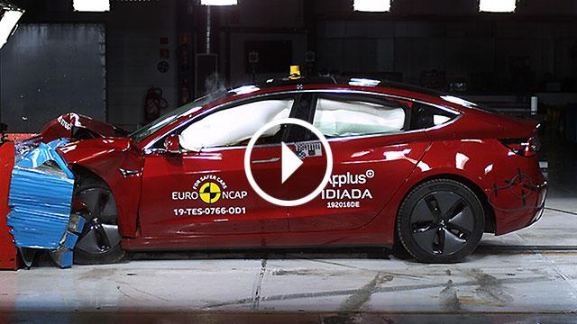 Euro NCAP – Tesla Model 3 položio s odličnim