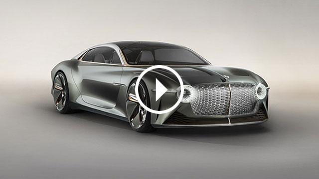 Bentley EXP 100 GT – luksuz budućnosti