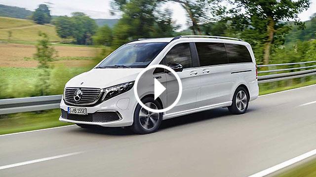 Mercedes-Benz EQV – prvi električni premium kombi