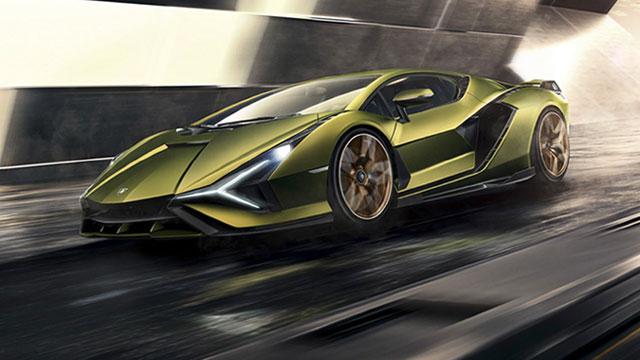 Lamborghini Sián – prvi elektrizirani razjareni bik
