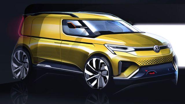 Prvi pogled na novi Volkswagen Caddy čija će svjetska premijera biti u veljači