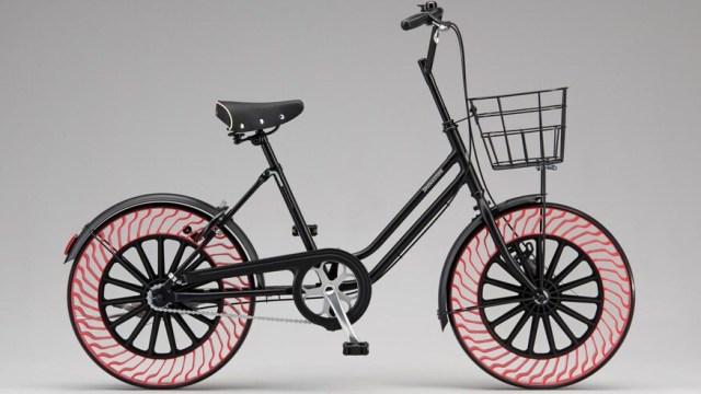 Bridgestone priprema gume bez zraka, ali prvo za bicikle