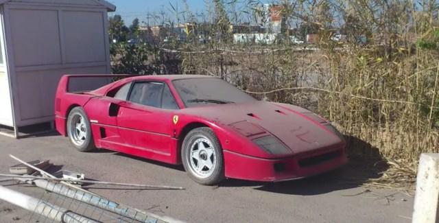 Pronađen Ferrari F40 koji je pripadao sinu Saddama Husseina
