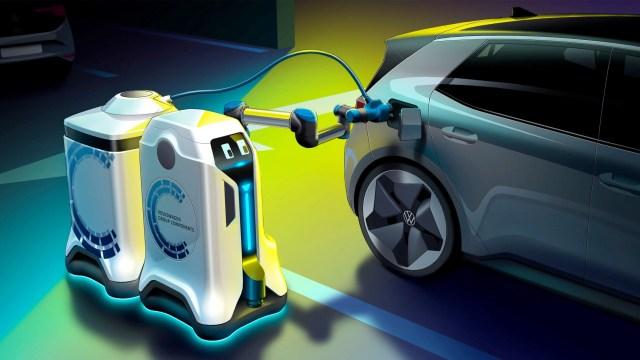 Robot koji će napuniti vašeg električnog Volkswagena