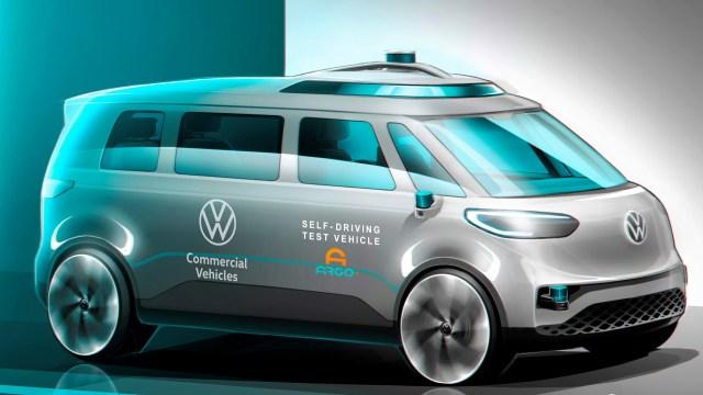 Električni kombi ID.BUZZ bit će prvi autonomni VW