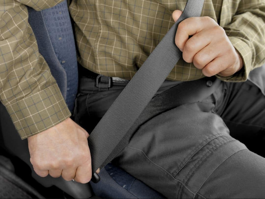 Can I be fined for driving with my coat on? Yes, but in specific cases