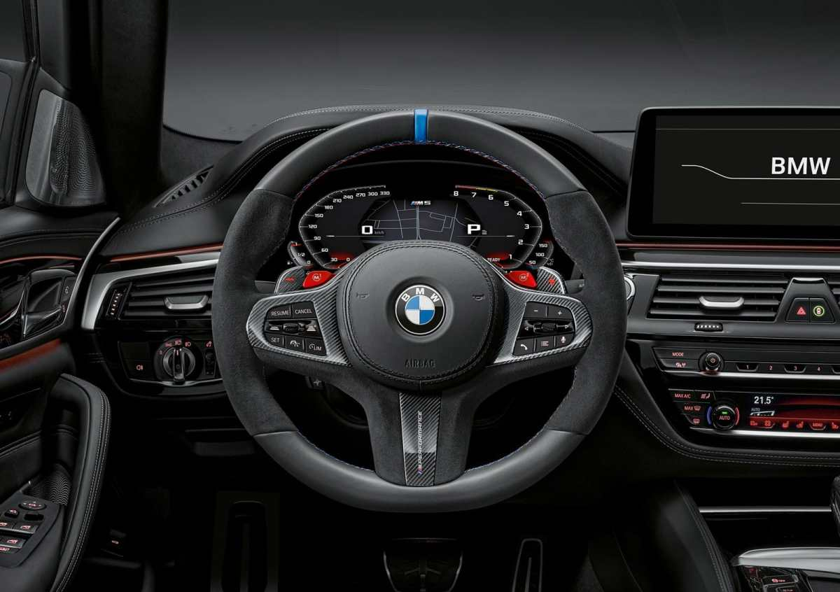 BMW M Performance knickknacks now even for the M5 and M5 Competition