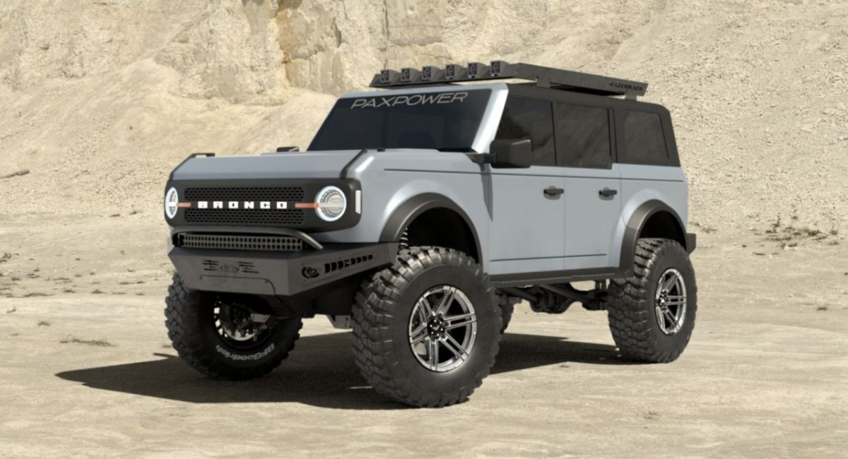 We will see a 5.0-liter Ford Bronco V8 with no less than 760 hp