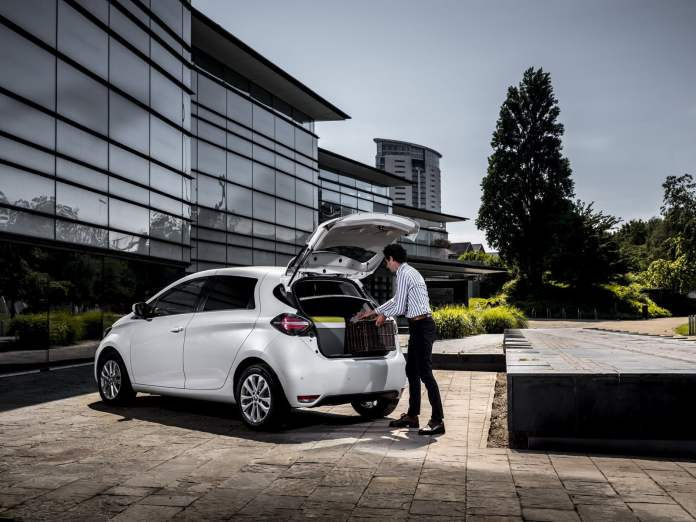 The electric solution to deliver in the city