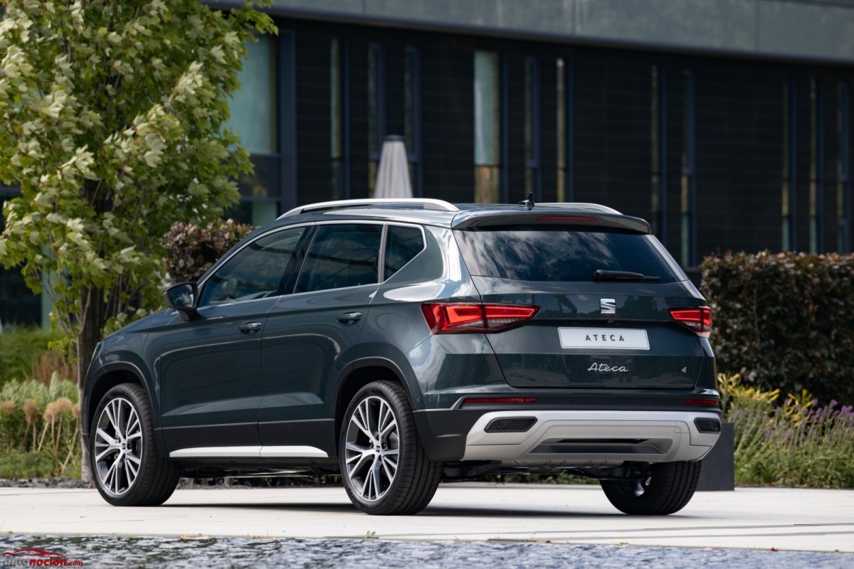 All prices of the renewed SEAT Ateca: Arrives in September