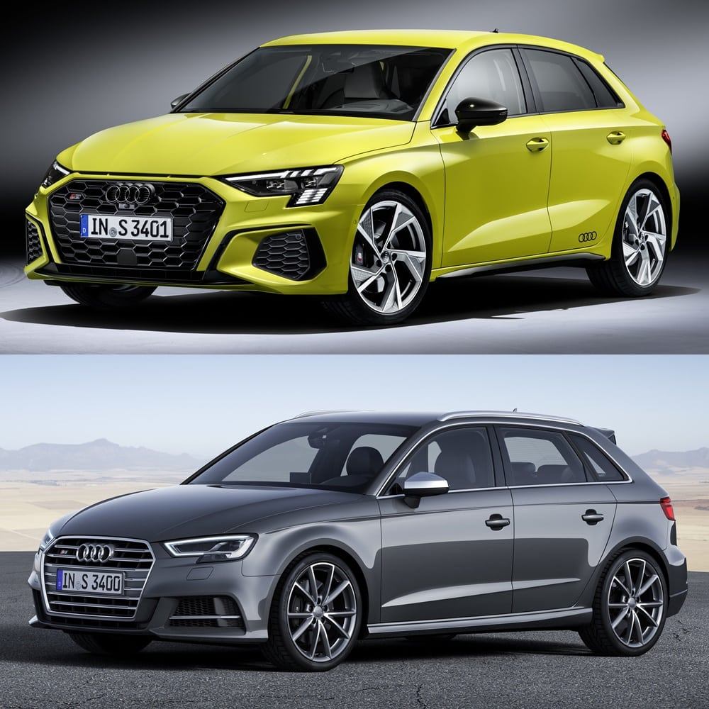 Judge for yourself how much the spicy compact has changed
