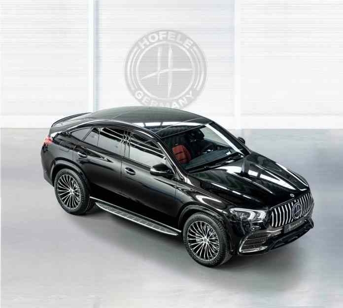 The Mercedes-Benz GLE Coupé by Hofele is inspired by the Maybachs to offer maximum luxury