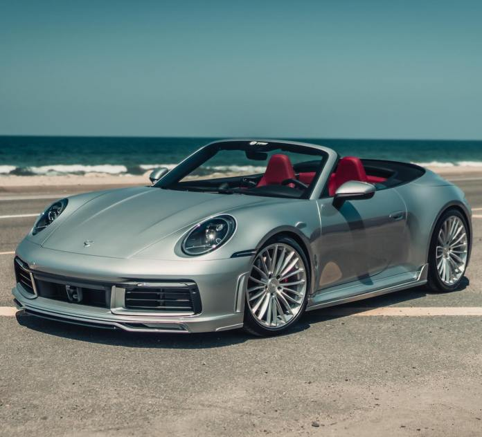 Now you can enjoy the Porsche 911 (992) Convertible with titanium exhaust and an additional 80 hp