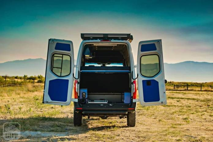 """This Mercedes-Benz Sprinter 4 × 4 is the answer to anyone looking for a """"Covid Free"""" vacation"""