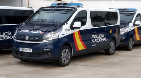 39 new units of the Fiat Talento Combi for the National Police: all 145 hp diesel