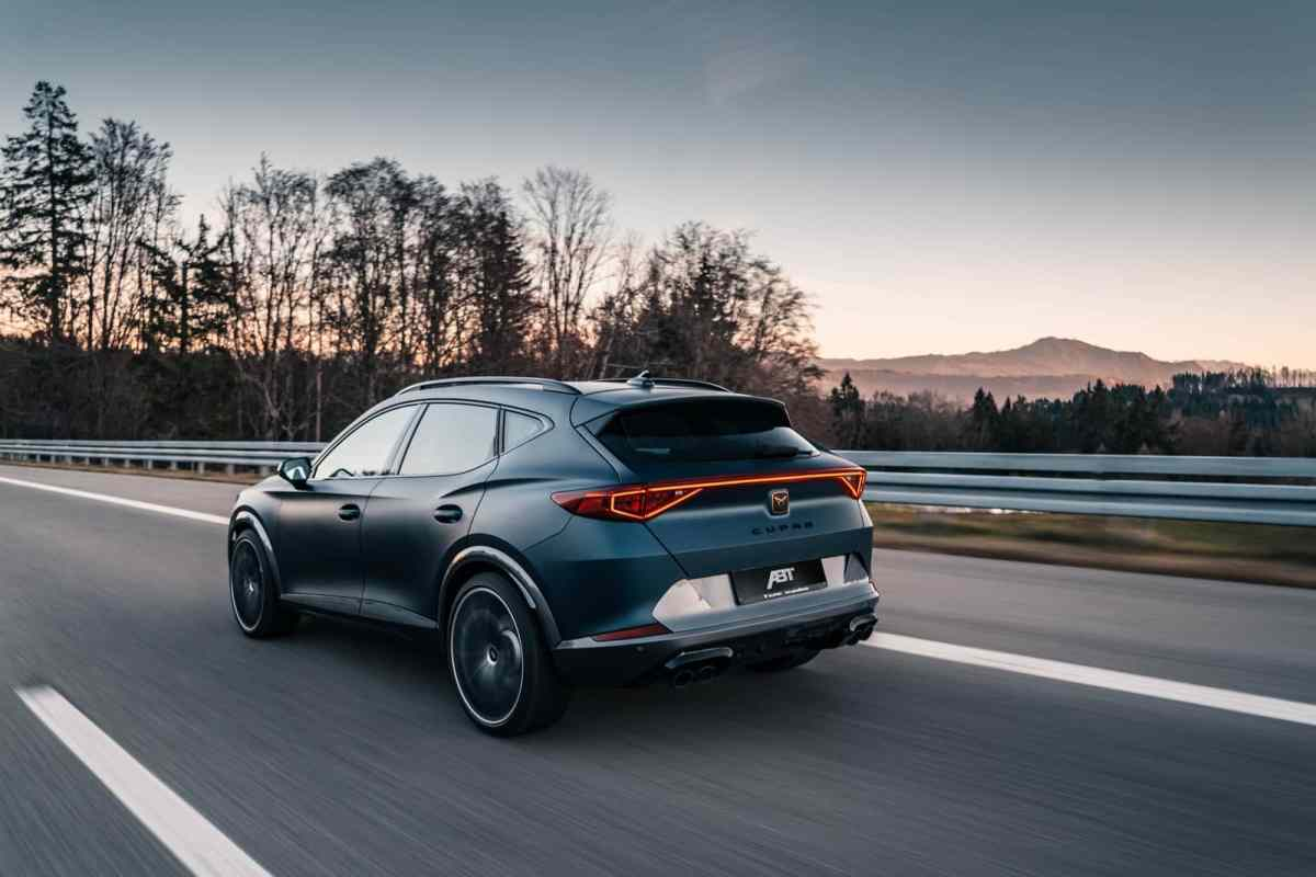 And now the CUPRA Formentor 2.0 TSI with 370 hp and an improved exhaust
