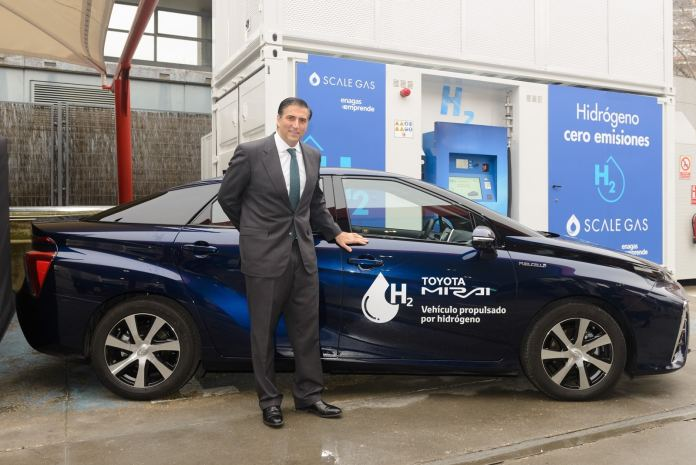 The first high-pressure hydrogenerator is already operating in Spain: it generates hydrogen alone ...