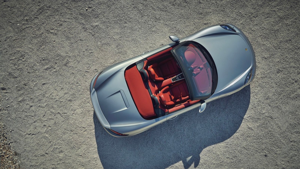 The Boxster turns 25 and Porsche celebrates it with a special edition