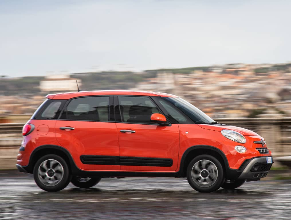 The 2021 range of the Fiat 500L is now on sale