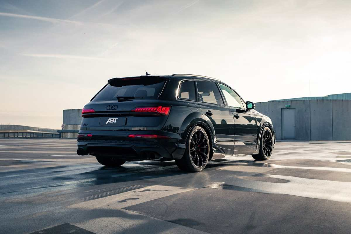 The colossus, sportier than ever thanks to ABT
