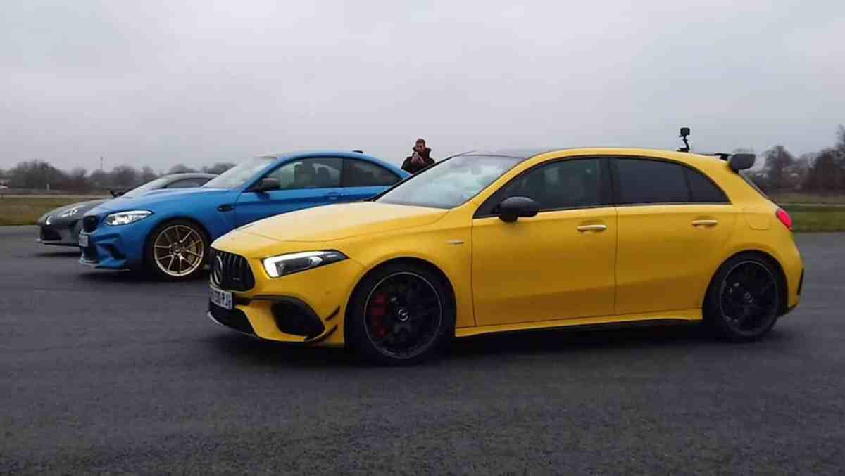 Video BMW M2 CS vs. Mercedes-AMG A 45 S vs. Alpine A110 S