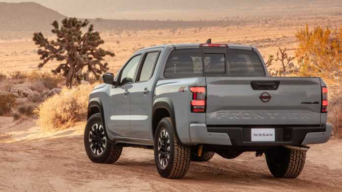 Images, information and news Nissan Frontier 2021
