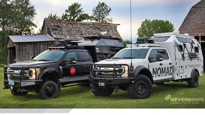 Images and information tactical vehicles Nomad GCS 2021