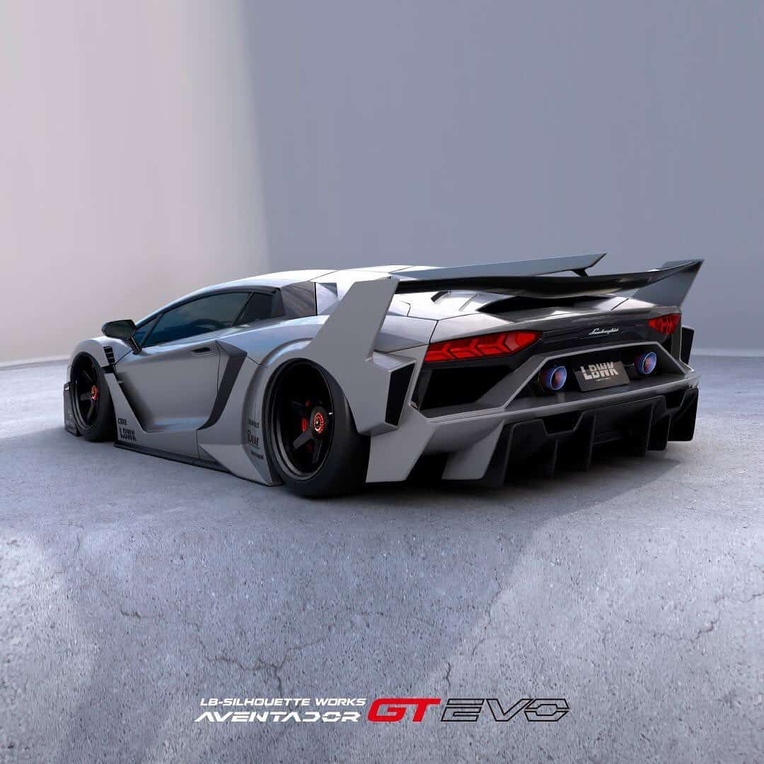 Liberty Walk's finishing touch to Aventador preparations takes the hiccups