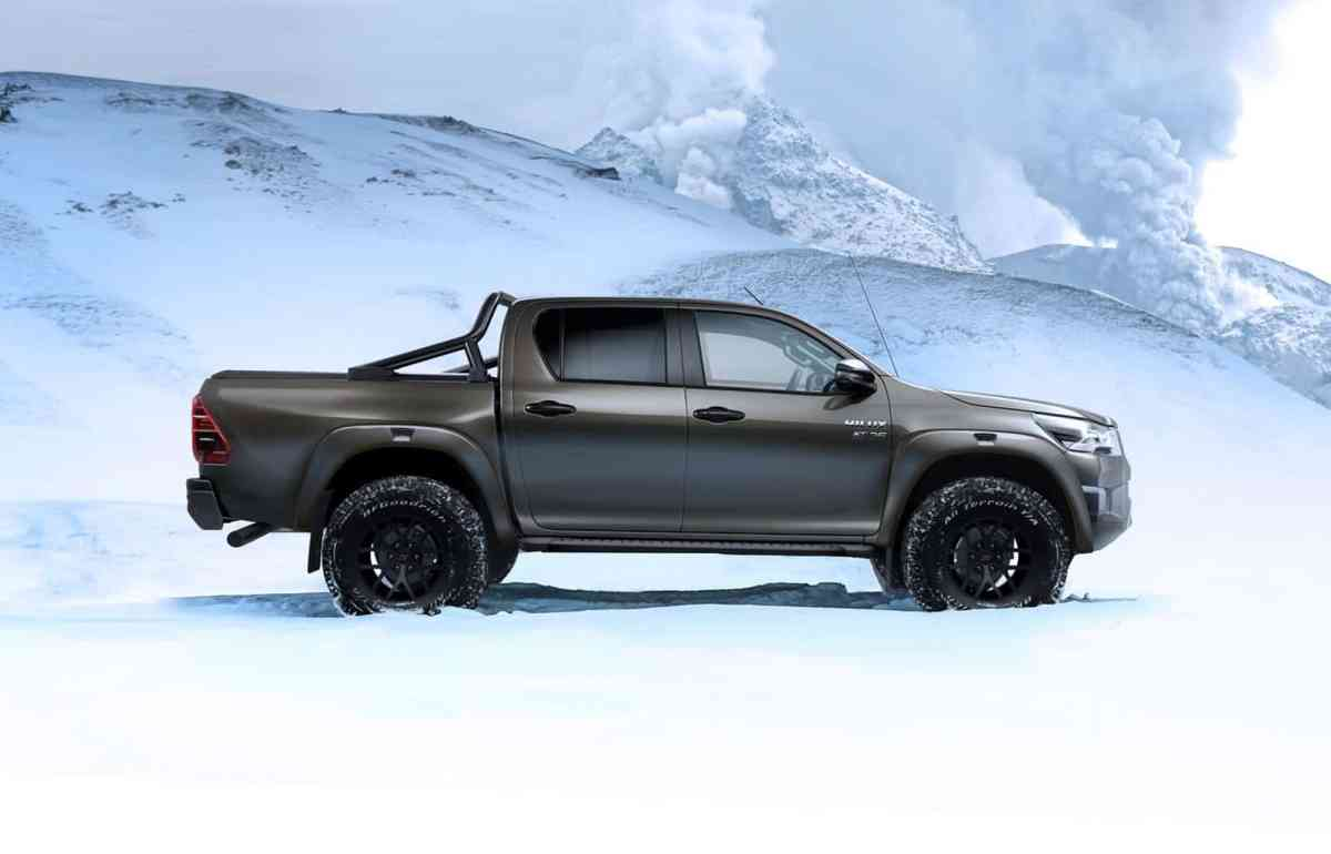 the best of Toyota to reach the end of the world