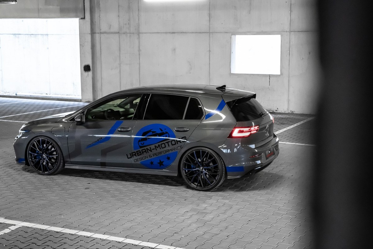 If you are looking for a spicy touch for the Volkswagen Golf GTE, Urban Motors has the solution