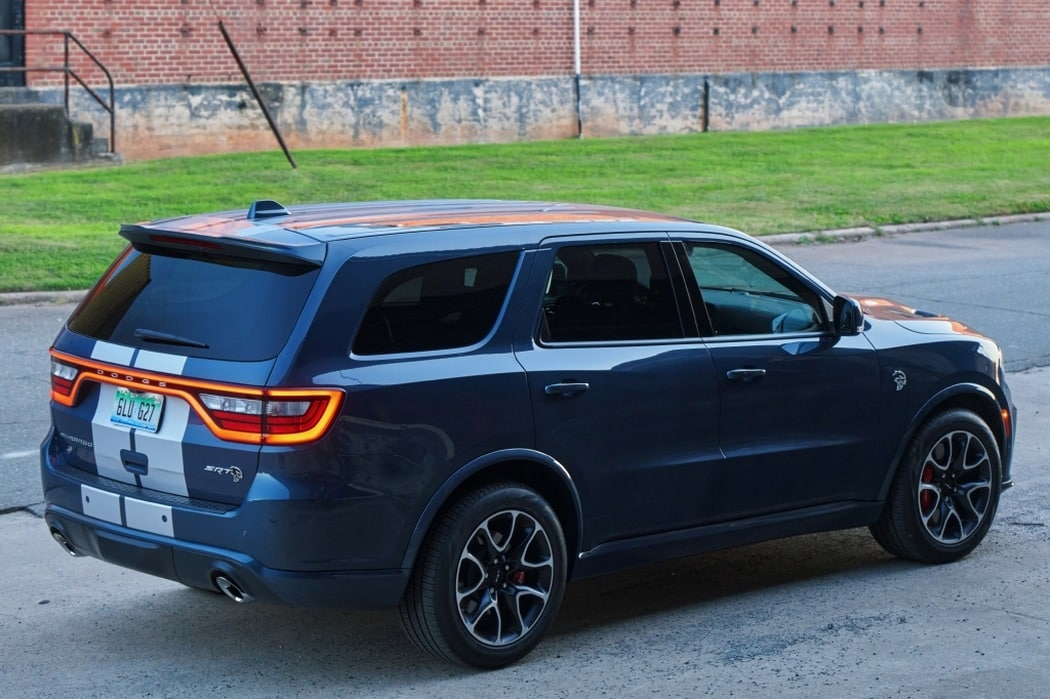 This is the Dodge Durango range for Spain