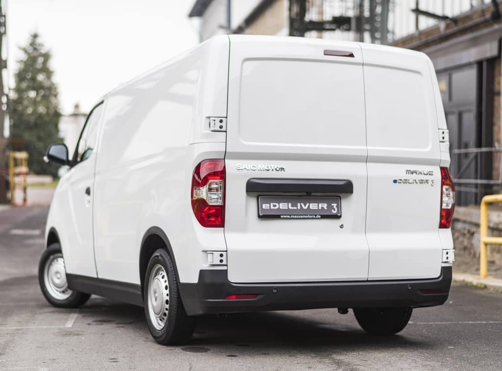 Now on sale the Maxus e-Delivery 3: Another electric van