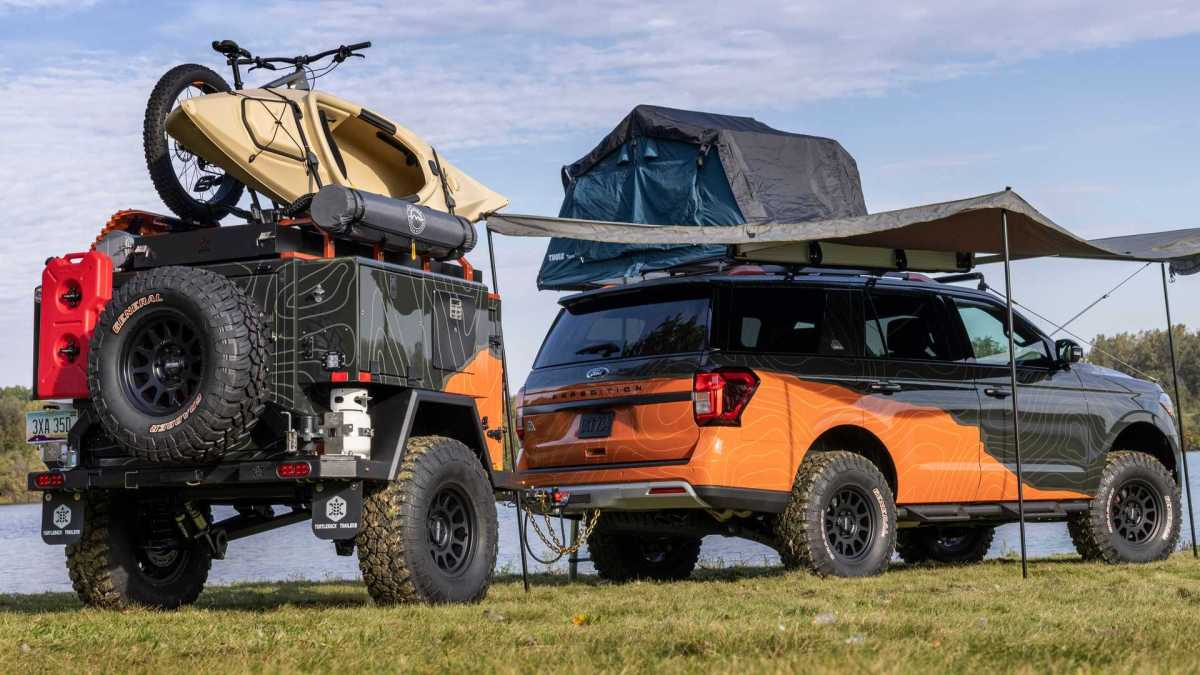 The Ford Expedition Timberline Off-Grid is more complete than many camper