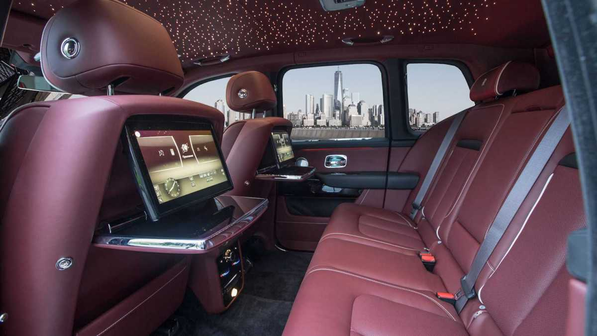 The RR Cullinan now resists the blast of two grenades