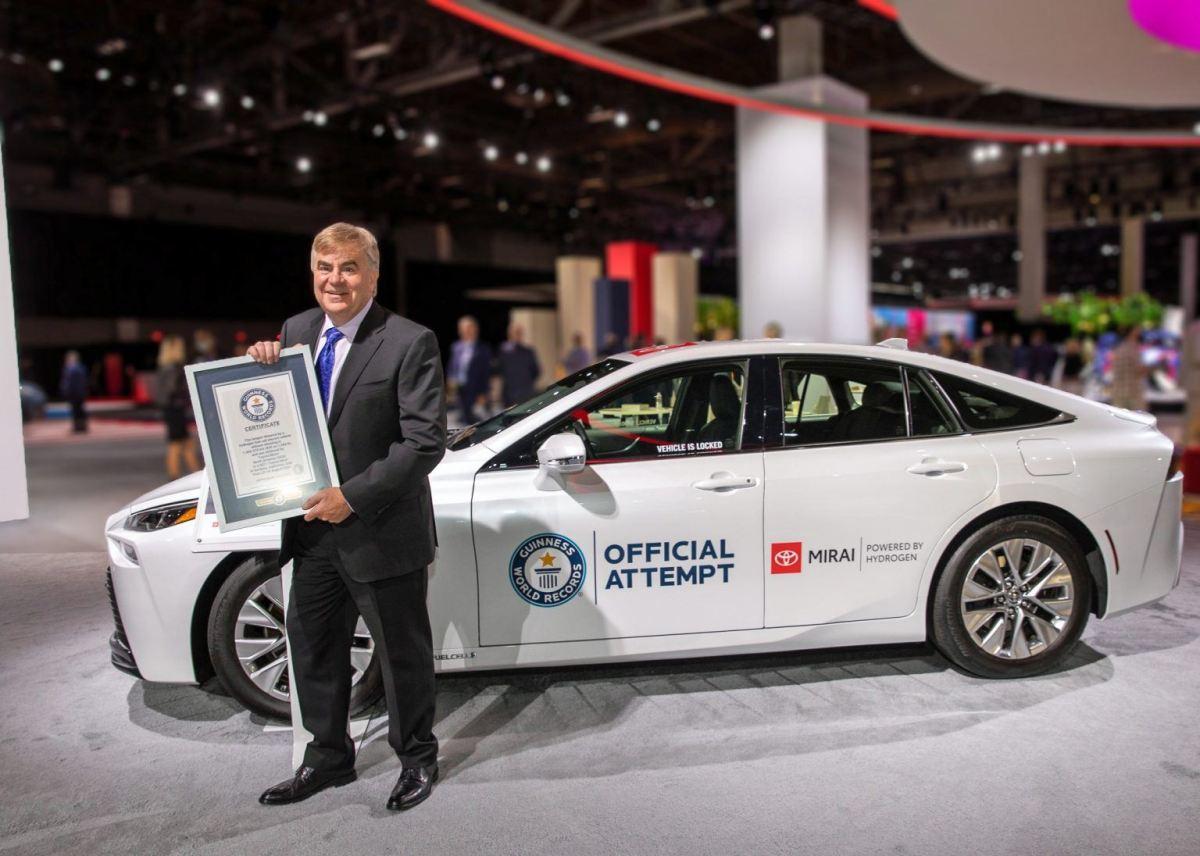 Toyota Mirai record