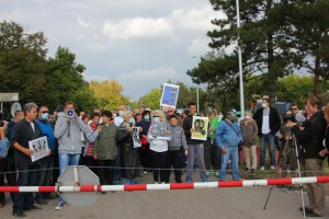 Sombor protest