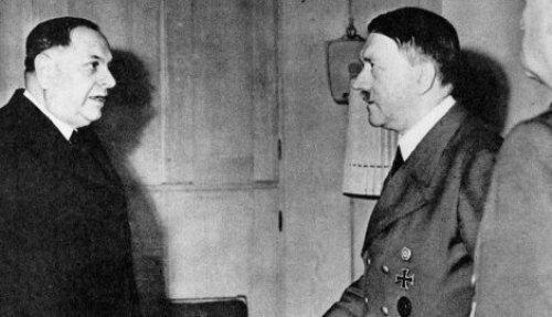 Milan Nedic Hitler