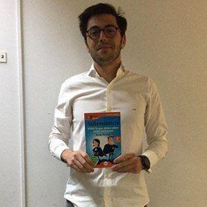 César de Pablo Huete ya tiene su GuíaBurros para autónomos