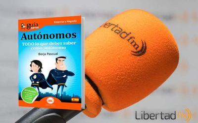 "GuíaBurros para autónomos en ""Las Mañanas en Libertad"" de LibertadFM"