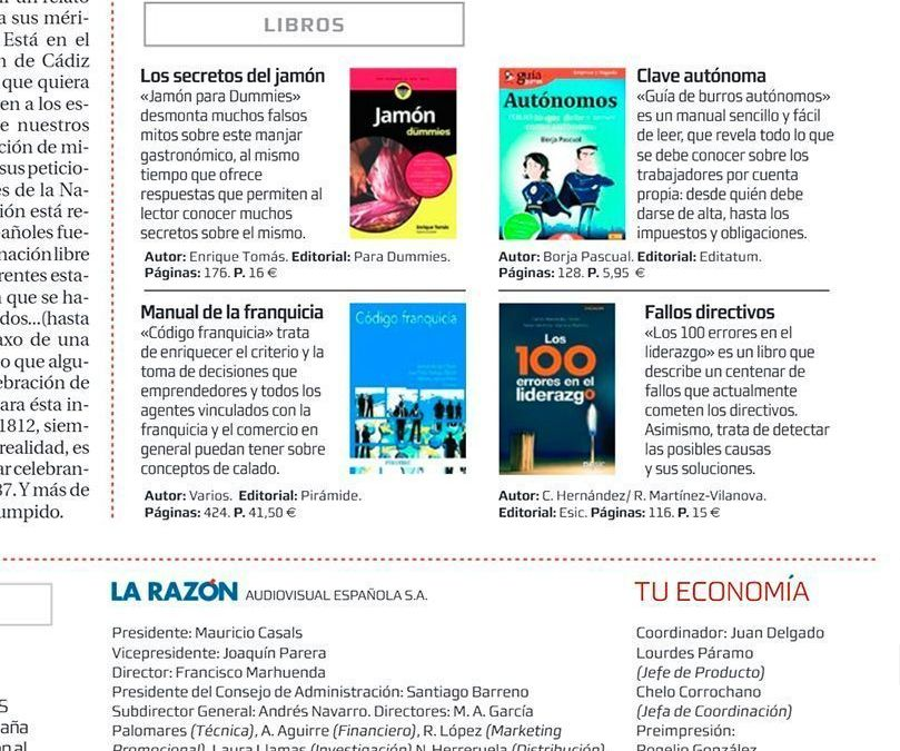 GuíaBurros Autónomos en el diario La Razón
