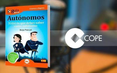 El GuíaBurros: Autónomos y su autor, Borja Pascual, en «Poniendo las calles», en COPE