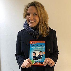 Sofía Benjumea ya tiene su GuíaBurros para autónomos
