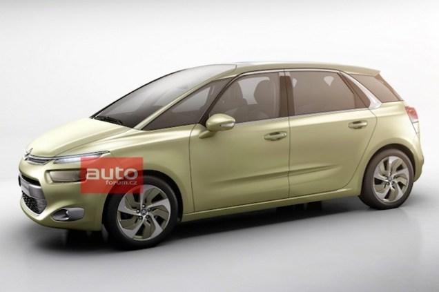 Citroën C4 Picasso Technospace Concept 2013 01