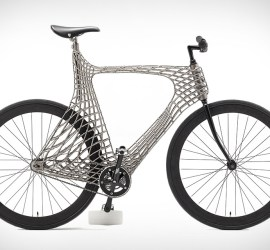 Arc 3D-Printed Stainless Steel Bicycle