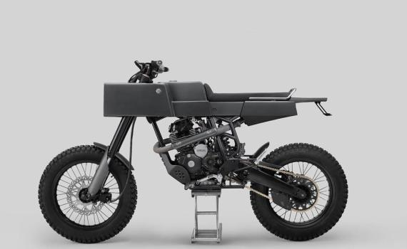 Custom Yamaha T 005 Cross by Thrive Motorcycle