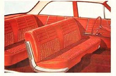 1964 Chevy Impala 4 Door Hardtop Amp Sedan Interior Package Kit