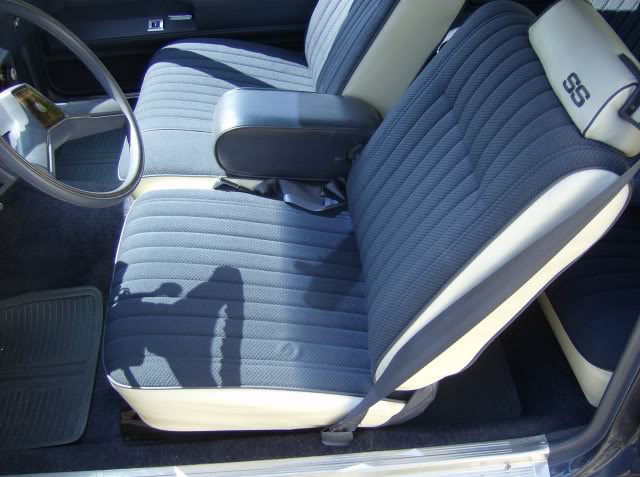 Seat Upholstery 1983 Monte Carlo Ss Seat Cover Front