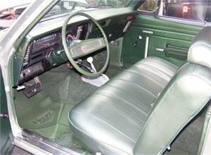 1969 70 Nova Standard 2 Door Interior Kits