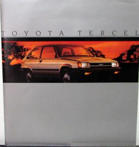 1985 Toyota Land Cruiser Service Shop Repair Manual Supplement Chassis & Body